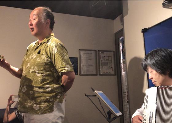 「みんなで歌おう!ナビトモ歌声喫茶in新宿」レポート