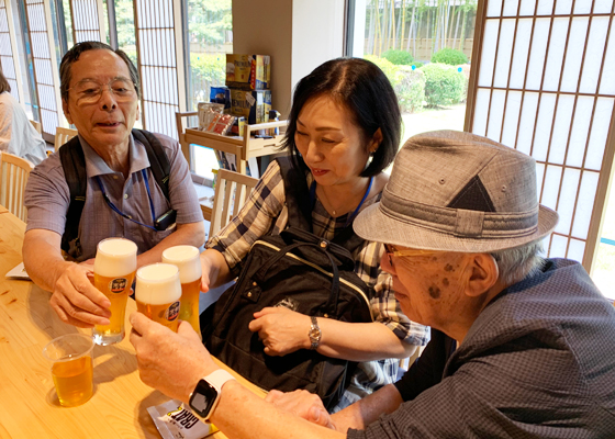 『サントリー〈天然水のビール工場〉京都ブルワリー工場見学&ランチ交流会』イベントレポート