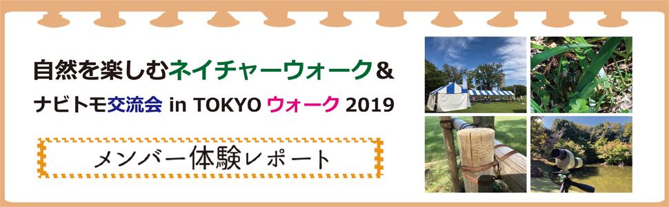 『自然を楽しむネイチャーウォーク&ナビトモ交流会 in TOKYOウオーク2019』イベントレポート